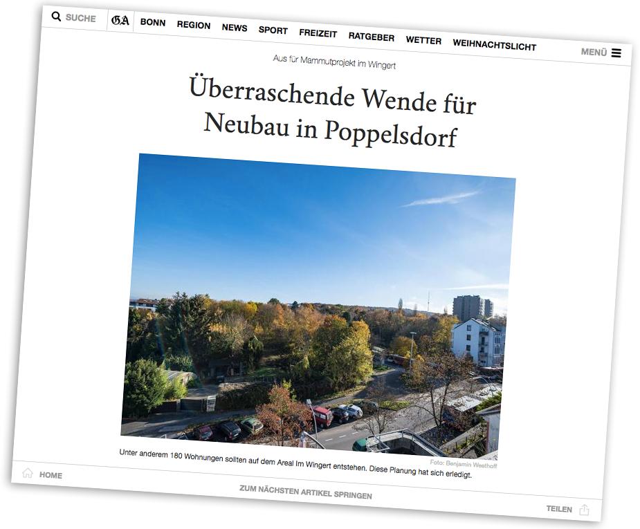 General-Anzeiger Bonn 17. November 2018