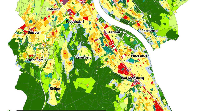 Stadtplan für besseres Klima
