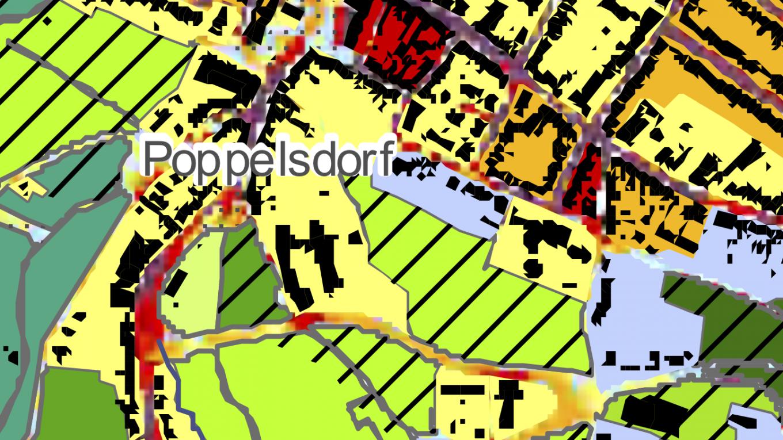ZURES Planungshinweiskarte Tagsituation Poppelsdorf